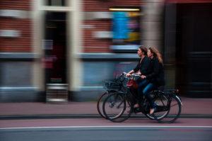 girls-biking-togerher